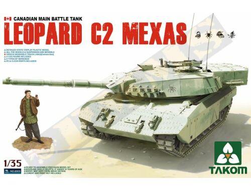 Takom Canadian MBT Leopard C2 MEXAS 1:35 (2003)