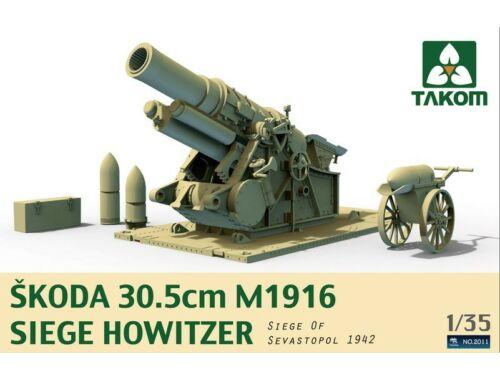 Takom Skoda 30,5cm M1916 Siege Howitzer 1:35 (2011)