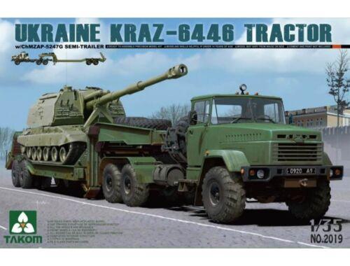 Takom UKRAINE KRAZ-6446 TRACTOR 1:35 (2019)