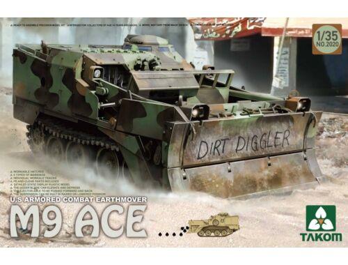 Takom U.S.Armored Combat Earthover M9 ACE 1:35 (2020)