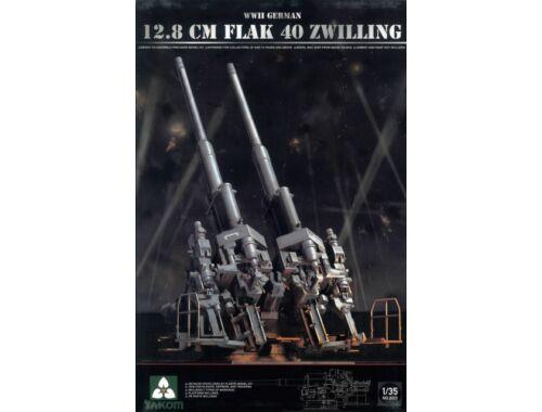 Takom 12,8 cm Flak 40 Zwilling 1:35 (2023)