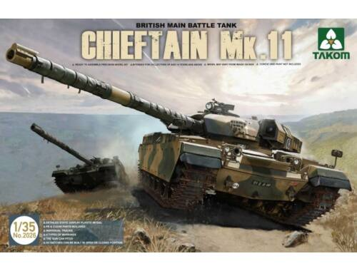 Takom British Main Battle Tank Chieftain Mk.11 1:35 (2026)