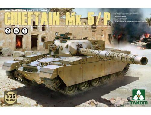 Takom British Main Battle Tank ChieftainMk.5/P 1:35 (2027)