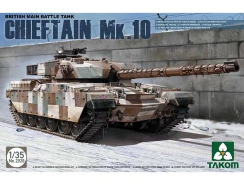 Takom British Main Battle Tank Chieftain Mk.10 1:35 (2028)