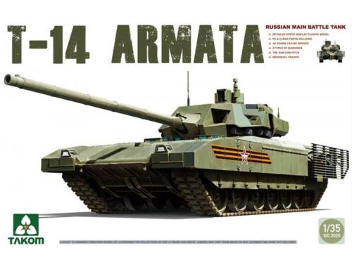 Takom T-14 Armata Russian Main Battle Tank 1:35 (2029)