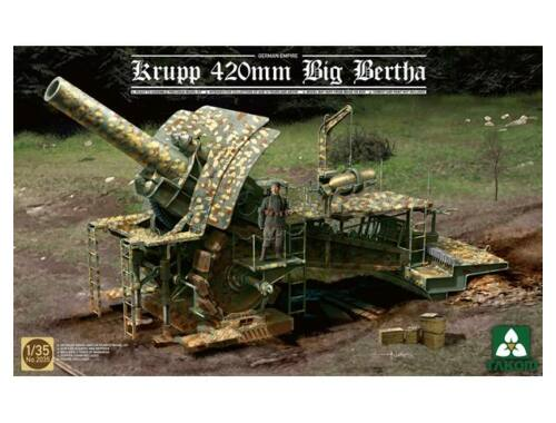 Takom German Empire 420mm Big Bertha Siege How 1:35 (2035)