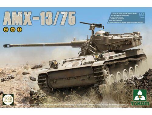 Takom IDF Light Tank AMX-13/75 2in1 1:35 (2036)
