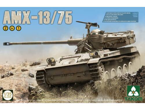 Takom IDF Light Tank AMX-13/75 2in1 1:35 (2036)