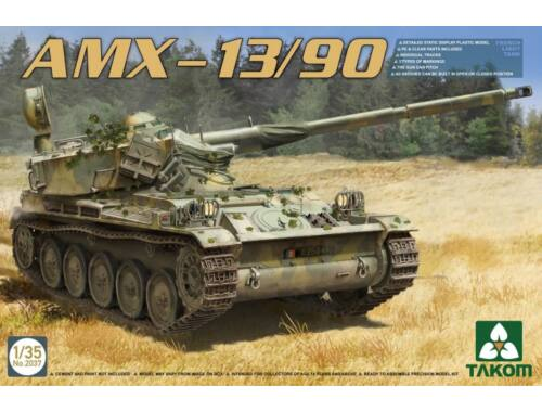 Takom French Light Tank AMX-13/90 1:35 (2037)