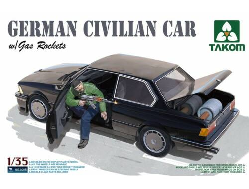 Takom German Civilian Car with Gas Rockets 1:35 (2005)