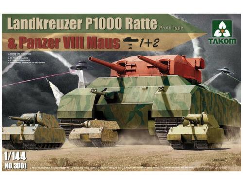 Takom Landkreuzer P1000 Ratte(Proto Type) Panz 1:144 (3001)