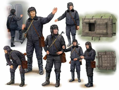 Trumpeter Soviet Soldier-Scud B Crew 1:35 (434)