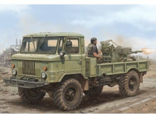 Trumpeter Russian GAZ-66 with Zsu-23-2 1:35 (01017)