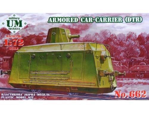 Unimodel Armored car-carrier (DTR) 1:72 (T662)