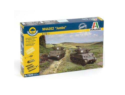 "Italeri M4A3E2 ""JUMBO"" 2in1 Fast Assembly Kit 1:72 (7520)"