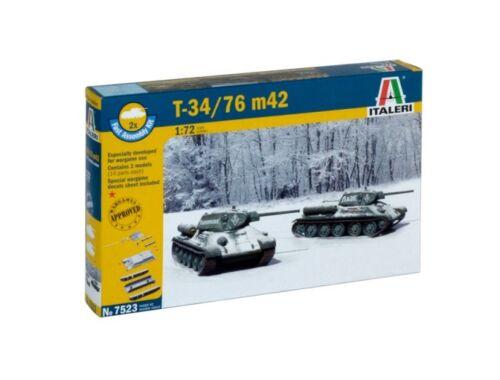 Italeri T 34 / 76 m42 (easykit 2pcs) 1:72 (7523)