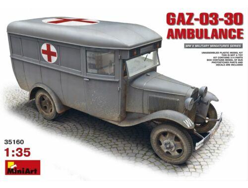 Miniart GAZ-03-30 Ambulance 1:35 (35160)