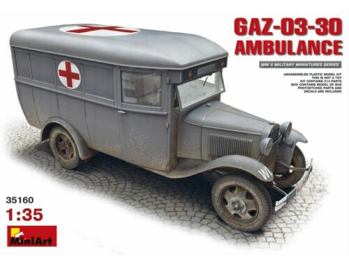 Miniart GAZ-03-30 Ambulance 1:35 (35160)