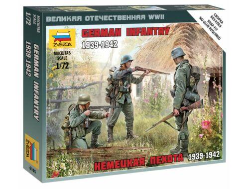 Zvezda German Infantry 1939-1942 1:72 (6105)