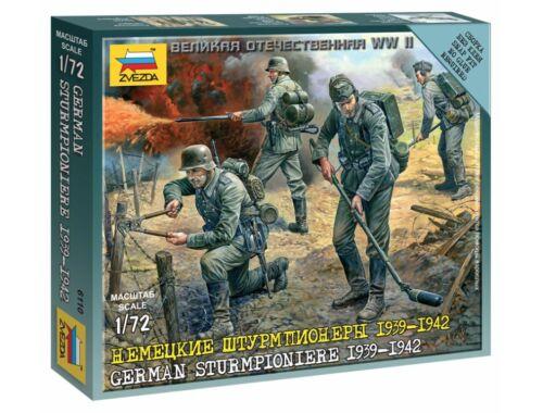 Zvezda German Sturmpioniere 1939-1942 1:72 (6110)