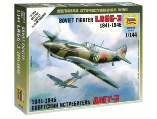 Zvezda Soviet Fighter LAGG-3 1941-1945 1:144 (6118)