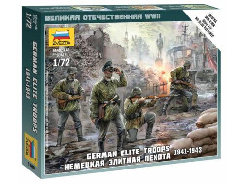 Zvezda German Elite Troops 1939-43 1:72 (6180)
