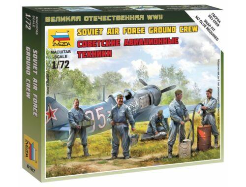 Zvezda Soviet Airforce Ground Crew 1:72 (6187)