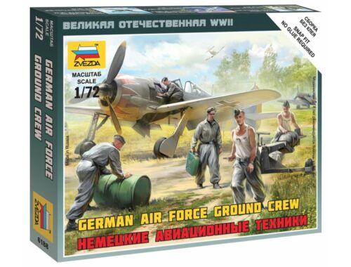 Zvezda German Airforce Ground Crew 1:72 (6188)