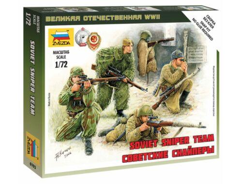 Zvezda Soviet Snipers 1:72 (6193)