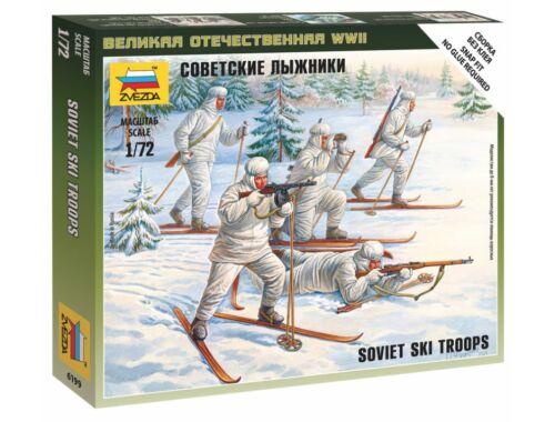 Zvezda Soviet Skiers 1:72 (6199)