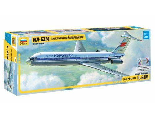 Zvezda Ilushin Il-62M 1:144 (7013)