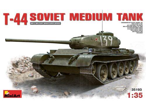 Miniart T-44 Soviet Medium Tank (35193)