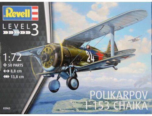 Revell Polikarpov I-153 Chaika 1:72 (3963)