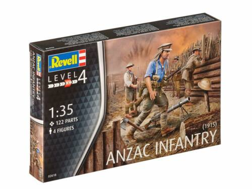 Revell ANZAC Infantry (1915) 1:35 (2618)