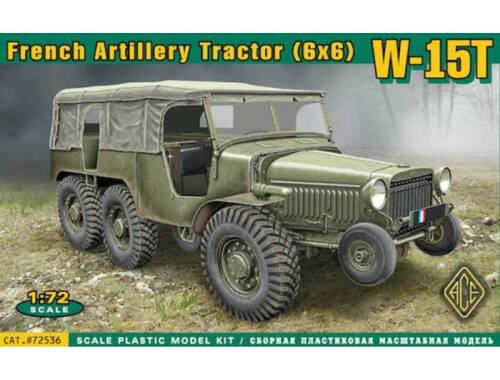 ACE W-15T French WWII 6x6 artillery tractor 1:72 (72536)