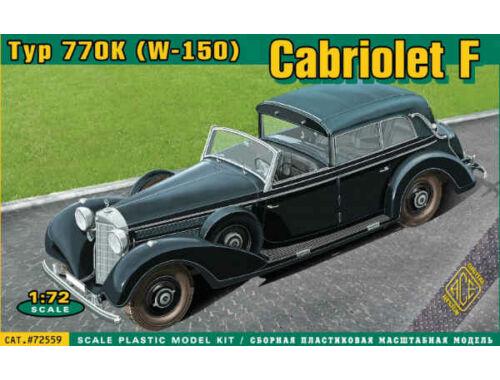 ACE Typ 770K W-150 Cabriolet F. 1:72 (72559)