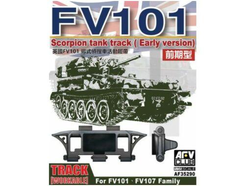 AFV Club Scorpion/scimitar CVR Family Workable track (early type) 1:35 (AF35290)