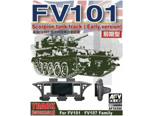 AFV Club Scorpion/scimitar CVR Family Workable track (early type) 1:35 (AF35290)
