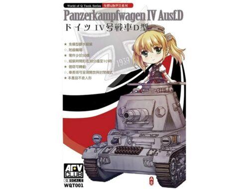 AFV Club Panzerkampwagen IV Ausf.D (Q series kit) (WQT001)