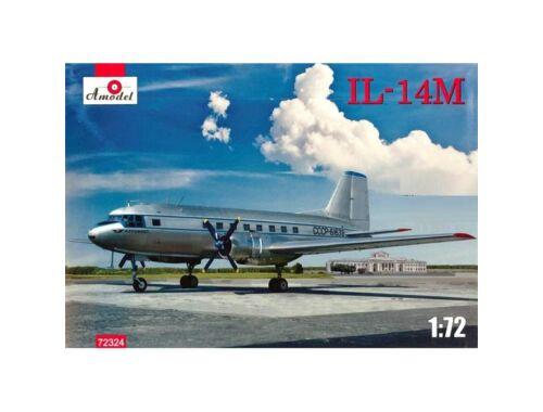 Amodel Ilyushin IL-14M transport aircraft 1:72 (72324)