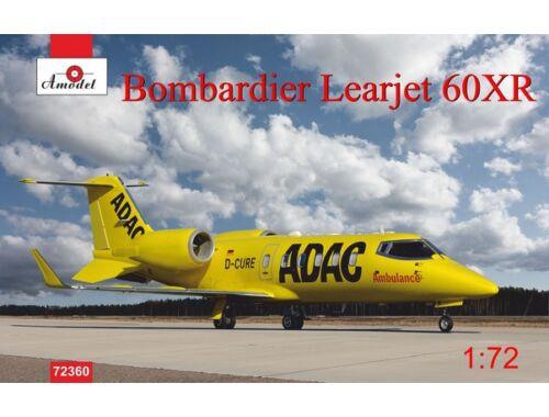 Amodel Bombardier Leajet 60xR ADAC ambulance 1:72 (72360)