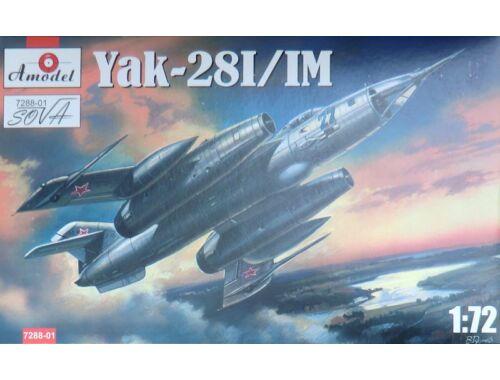 Amodel Yakovlev Yak-28 I/IM 1:72 (7288-01)