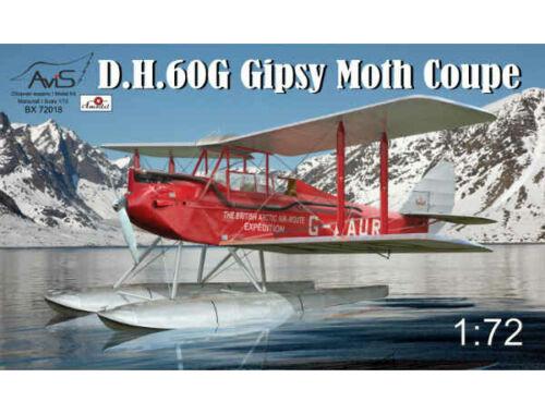 Avis DH-60G Gipsy Moth Coupe floatplane 1:72 (72018)