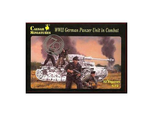 Caesar WWII German Panzer Unit in Combat 1:72 (H085)