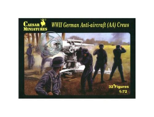 Caesar WWII German Anti-aircraft (AA) Crew 1:72 (H089)