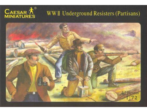 Caesar WWII Underground Resister 1:72 (H006)