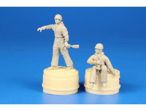 CMK Soviet Tank Desant Troops, part 2 (2 figures) 1:48 (F48294)