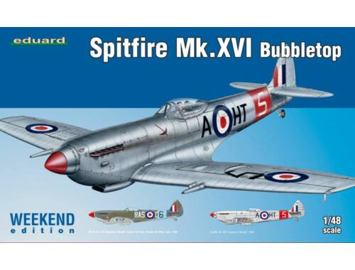 Eduard Spitfire Mk.XVI Bubbletop WEEKEND edition 1:48 (84141)