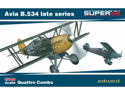 Eduard Avia B.534 late series Quattro Combo SUPER44 1:144 (4452)