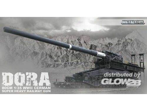 Dora Railway Gun Limited Edition! 1:35 (1539999)